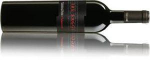 Flasche Wein aus Italien