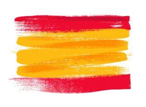 Wein Spanien Flagge