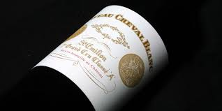 Bordeaux Wein Chateau Cheval Blanc