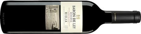 Rotwein Baron De Ley aus der Rioja Spanien