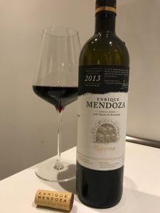 Rotwein Enrique Mendoza aus Spanien