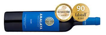 Ausgezeichnete Flasche Rotwein Amalaya 2017 aus Argentinien