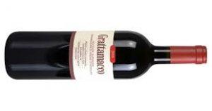 Rotweinflasche Grattamacco Bolgheri aus Italien
