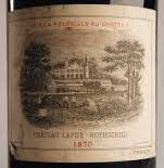 Etikett Weinflasche