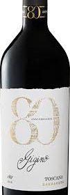 Rotwein Barbanera Gigino 80 aus der Toskana in Italien