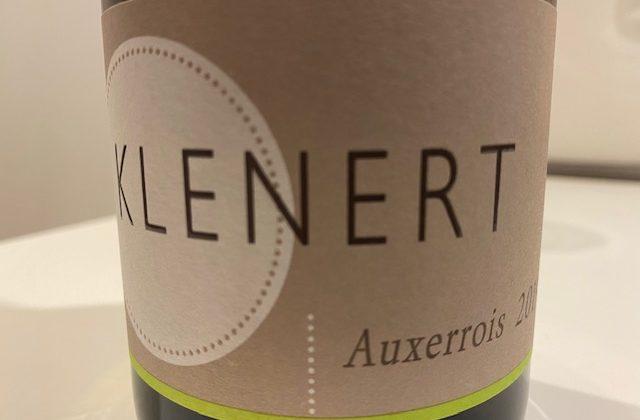 Weinetikett Weißweinflasche vom Weingut David Klenert im Kraichgau